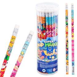 Mancs őrjárat grafit ceruza radírral, 1 db