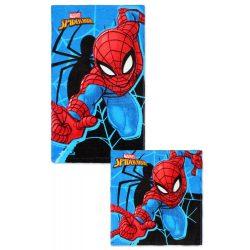 Pókember kéztörlő, törölköző szett, pamut, Spiderman