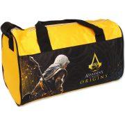 Assassin's Creed sporttáska 38 cm, sárga-fekete
