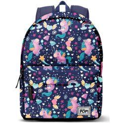 Unikornis hátizsák, Oh My Pop Magic 42 cm, USB csatlakozóval
