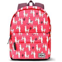 Láma hátizsák, Oh My Pop Cuzco 42 cm, USB csatlakozóval