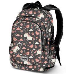 Unikornis hátizsák, Oh My Pop Fantasy 44 cm, USB csatlakozóval