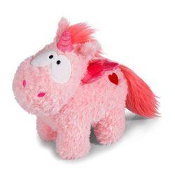 Nici Unicorn plüss, 22cm, Merry Heart, szívecskés, rózsaszín unikornis