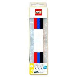 Lego zseléstoll, kék-piros-fekete, 3 db-os