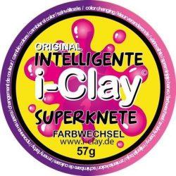 Intelligens gyurma, színváltós, lila-rózsaszín